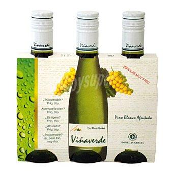 Viña verde Estuche de vino blanco Pack 3x18,5 cl