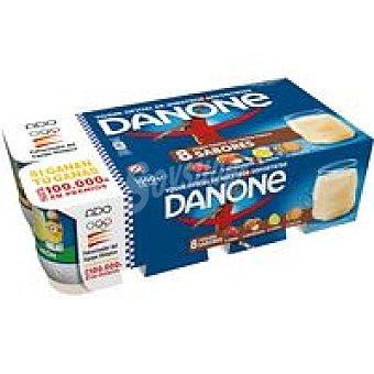 Danone Yogur de fresa-limón-galleta Pack 8x125 g