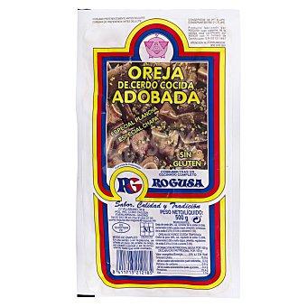 Rogusa Cerdo oreja precocinada fresco Paquete 500 g