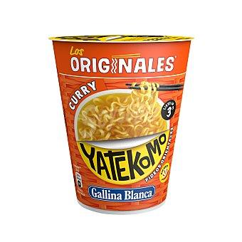 Gallina Blanca Fideos Orientales de Curry Yatekomo 61 g