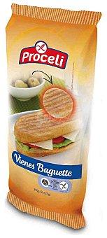 Proceli Pan vienes y baguette singluten Pack 2 u x 125 g