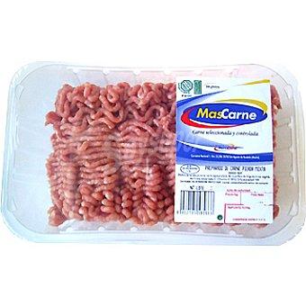 MASCARNE Carne picada mixta vacuno y cerdo Burger Meat Bandeja 800 g
