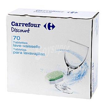 Carrefour Discount Lavavajillas Caja de 70 pastillas