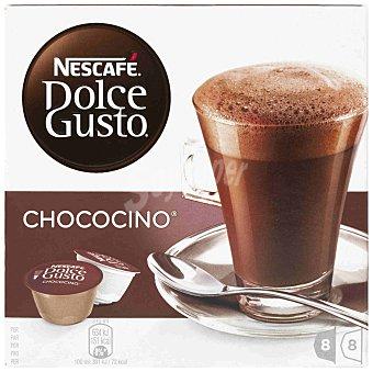 Dolce Gusto Nescafé Chococino 8 cápsulas chocolate + 8 leche
