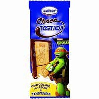 Zahor Chocotostada de las Tortugas Ninja Caja 100 g