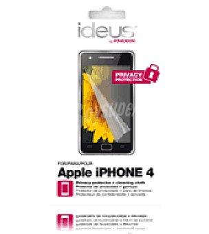Ideus Protector pantalla privacidad para iphone 4 ideus