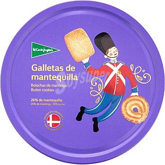 El Corte Inglés Galletas de mantequilla surtidas Lata 454 g