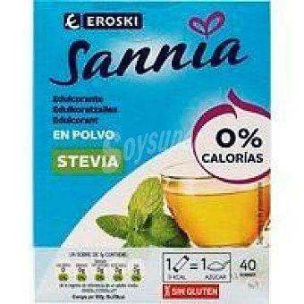 Eroski Sannia Edulcorante stevia Caja 40 unid