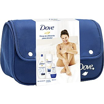 Dove Neceser Woman con gel de ducha nutrición intensa frasco 540 ml + loción... Frasco 540 ml