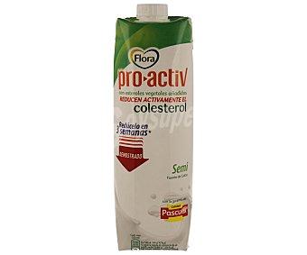 Flora Pascual Preparado Lácteo Flora Proactiv Brik de 1 l
