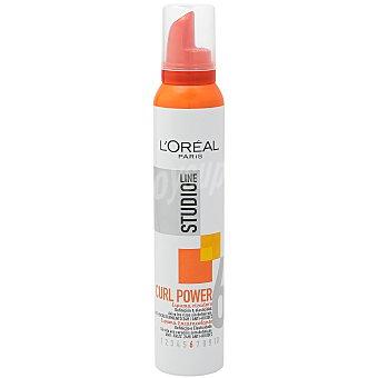 Studio Line L'Oréal Paris Espuma Curl Power rizadora anti-encrespamiento 24h Spray 200 ml