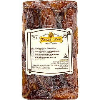 MENGES DE DEUS Pan de dátil con nueces Envase 300 g