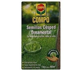 Compo Semillas para cesped ornamental 1 kg