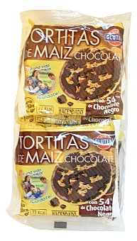 Hacendado Tortas maiz chocolate Pack 4 paquetes - 130 g