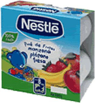 Nestlé Pure coctail fruta con cereales 400 GRS