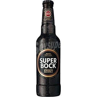 SUPERBOCK Stout cerveza negra portuguesa botella  33 cl