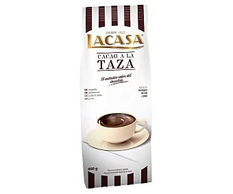 Lacasa Cacao en polvo a la taza Paquete 400 g