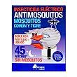 Insecticida electrico liquido / pastilla aparato + recambio mosquitos liquido u Bosque Verde