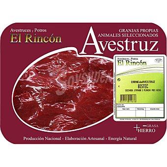 Rincon Filete bistec de avestruz peso aproximado Bandeja 350 g