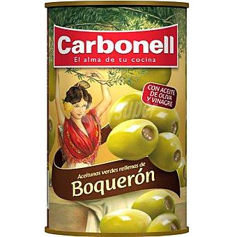 Carbonell Aceitunas verdes rellenas de boquerón Lata 150 g