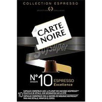 Carte Noire Café Nº 10 Excellence Caja 53 g