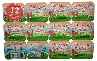 Hacendado Mantequilla con sal porciones 12 x 12,5 g