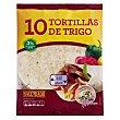 Tortillas mejicanas de trigo Paquete 10 unidades (360 gramos) Hacendado