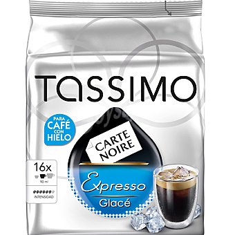 Tassimo para café con hielo ápsulas estuche 144 g 16 c