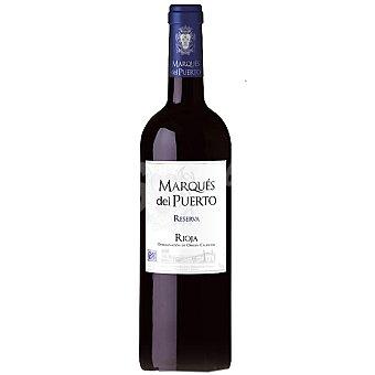 Marqués del Puerto Vino tinto reserva D.O. Rioja Botella 75 cl