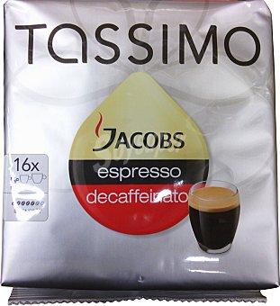 TASSIMO Café Jacobs espresso descafeinado 16 capsulas