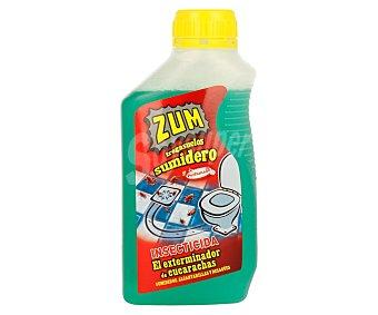 Zum Sumidero insecticida de cucarachas perfumado para sumideros alcantarillas o desagües Botella 500 ml