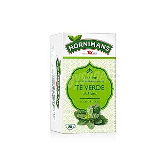 Hornimans Té verde con un toque de poleo menta 20 ud