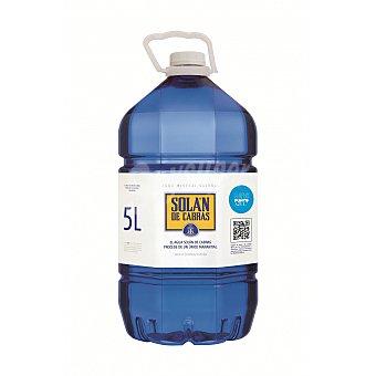 Solán de Cabras Agua mineral Garrafa 5 litros