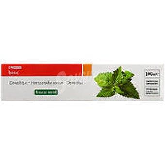 Eroski Basic Dentífrico Frescor Verde Tubo 100 ml