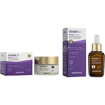 Sesderma Pack SESGEN 32 crema activadora celular tarro 50 ml + SESGEN 32 sérum facial activador 30 ml tarro 50 ml