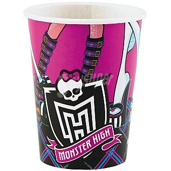 LIRAGRAM vasos cartón decorado Monster High  8 unidades