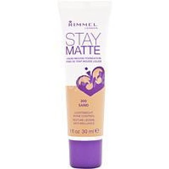 Rimmel London Matte Foundation N' 300 Pack 1 unid
