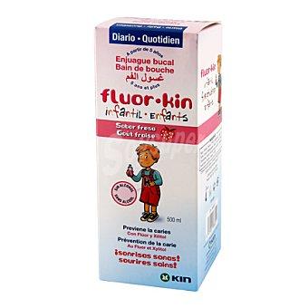 Kin Fluor infantil fresa colutorio 500 ml