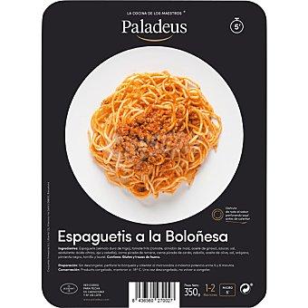 Paladeus Espaguetis a la boloñesa para microondas en 5 minutos bandeja 350 g 5 bandeja 350 g