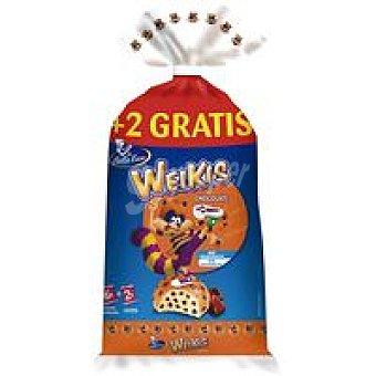 Weikis La Bella Easo Weikis con pep. de choco con leche Paquete 252 g