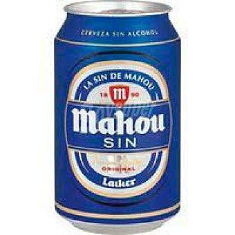 Mahou Cerveza sin alcohol mahou, lata 33 cl Lata 33 cl
