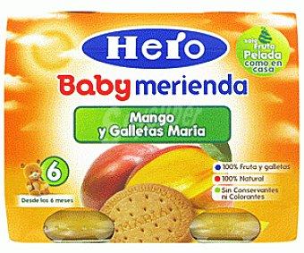 Hero Baby Mango y Galleta Merienda