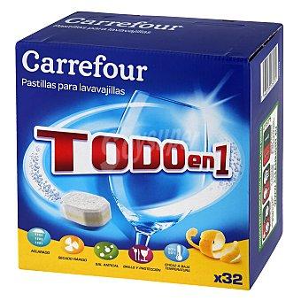 Carrefour Lavavajillas Total Protección 32 pastillas