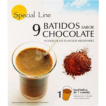 SPECIAL LINE batidos sabor chocolate sustitivos de 1 comida envase 270 g 9x30g