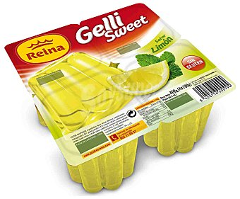 Postres Reina Gelatina de limón Pack 4x100 g