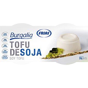 FRIAS Burgalia Tofu fresco de soja envase 250 g Pack 2 x 125 g