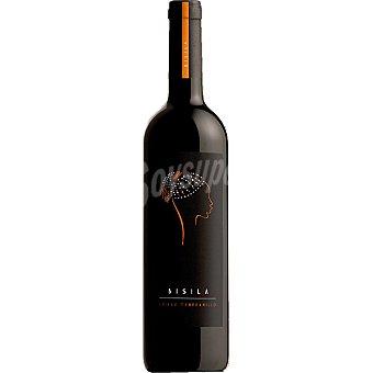 BISILIA Vino tinto shyraz tempranillo de Valencia botella 75 cl
