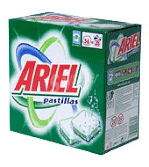 Ariel Detergente concentrado tabletas 56 ud