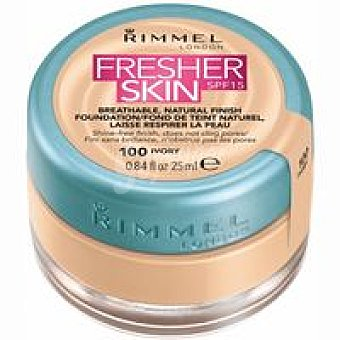 Rimmel London Base de maquillaje líquida Fresh 100 pack 1 unid