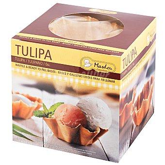 MASDEU Tulipa mediana para rellenar paquete 147 g 6 unidades